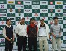 图文-05年业巡赛南宁站收杆单轮最低成绩选手