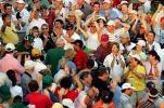 图文-名人赛决赛轮伍兹夺冠老虎受观众追捧