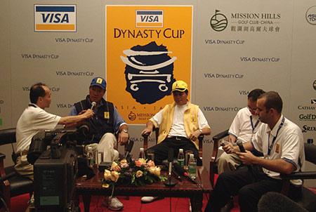 图文-朝王杯第二轮对阵公布双方队长展望比赛
