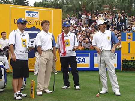 图文-第二届朝王杯第二轮首轮中落败的组合
