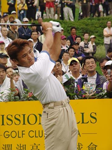 图文-第二届朝王杯第二轮本次比赛头号选手