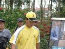 图文-2005年亚日朝王杯决赛轮梁文冲全心比赛