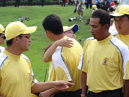 图文-朝王杯对抗赛圆满收杆处处洋溢胜利喜悦