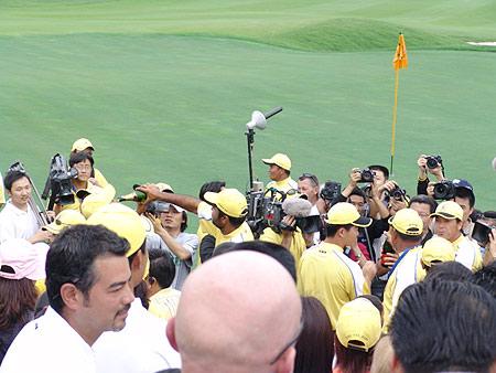 图文-朝王杯对抗赛圆满收杆记录亚洲卫冕时刻