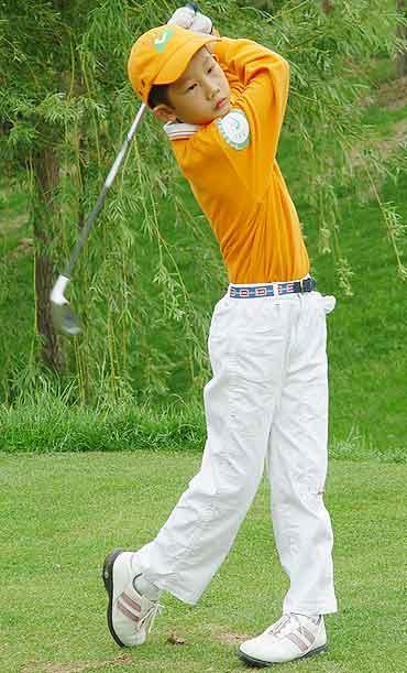 图文-好记星杯青少年邀请赛高尔夫未来之星