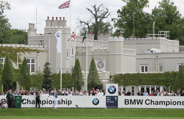 图文-BMW锦标赛第三轮落幕温特沃思古堡会所