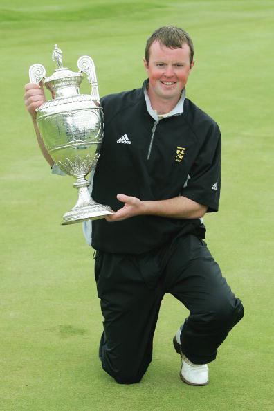 图文-英国业余高尔夫锦标赛冠军带来无限荣誉