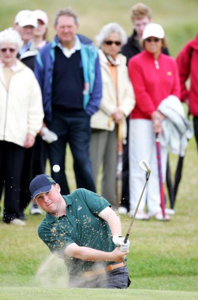 图文-英国业余高尔夫锦标赛麦克艾尼稳中取胜