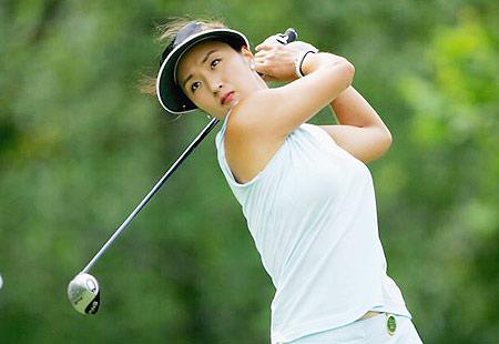 图文-LPGA麦当劳锦标赛次轮韩国美女朴垠芷