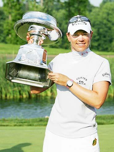 图文-LPGA麦当劳锦标赛决赛索伦斯坦赢得冠军