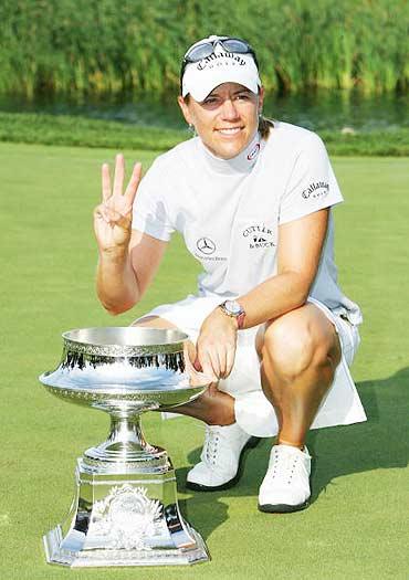 图文-LPGA麦当劳锦标赛决赛三次锦标赛胜利
