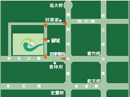 北京-天一高尔夫俱乐部位置图