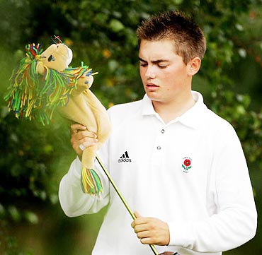 图文-2005年WCG名人高尔夫