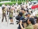 图文-全国青少年高球锦标赛众媒体关注青少年