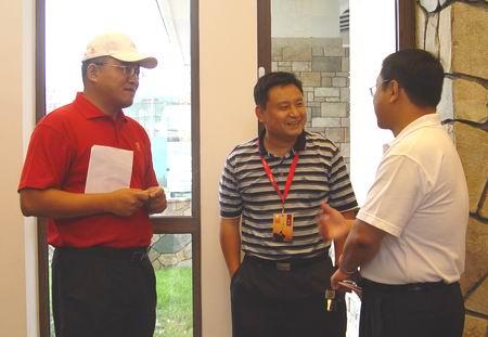 图文-中国巡回赛首站开杆在即探讨比赛未来蓝图