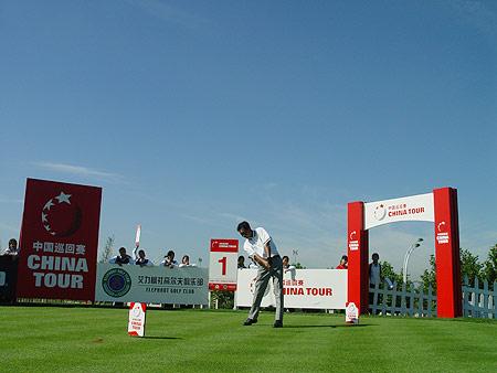 图文-中国巡回赛首站第三轮精彩决赛正在进行