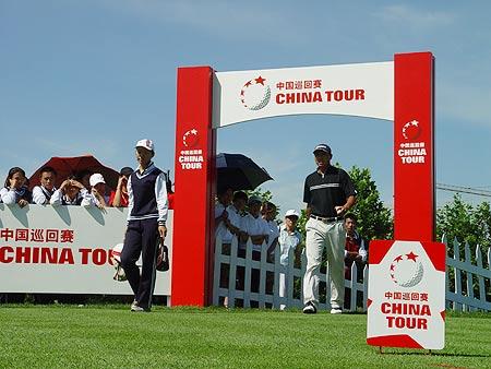 图文-中国巡回赛首站第三轮首站决赛精彩上演