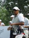 图文-大佛杯高尔夫挑战赛毛利人露出野性