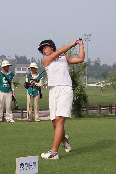 图文-业巡赛长沙站第三轮冯珊珊领先进决赛