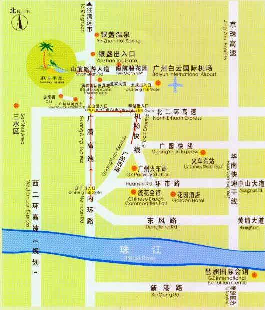 广东假日半岛高尔夫球会位置图