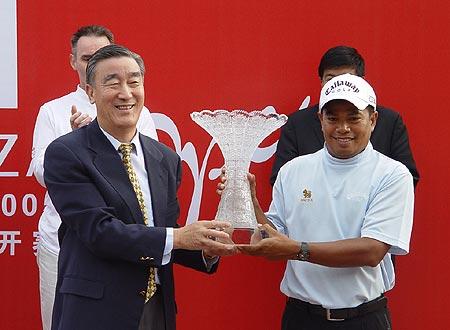 图文-北京公开赛冠军争夺战泰国马山最终夺冠