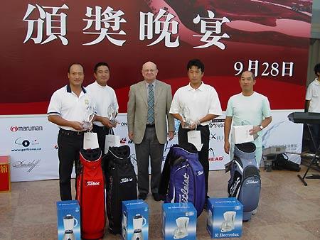 图文-上海美兰湖36洞邀请赛今天的收获很大