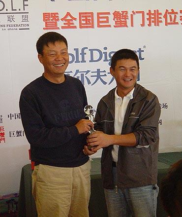 图文-中国高友联盟精英赛第二轮净杆亚军不赌