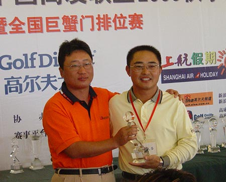 图文-中国高友联盟精英赛齐天大圣第一轮净杆第一