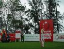 图文-中巡赛海南站第一轮开杆等待比赛正式开始