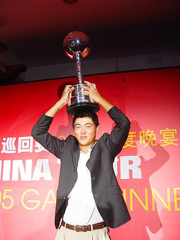 图文-中巡赛元年海南圆满落幕李超成最大赢家