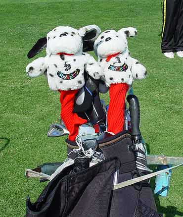 图文-中国业余巡回赛球包秀兄弟俩个排排坐