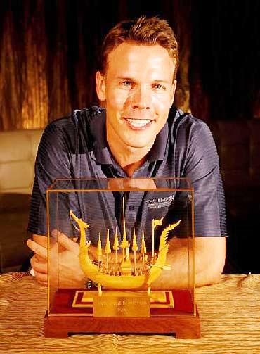 图文-亚巡赛年度奖项布莱特获得最佳亚巡赛场奖