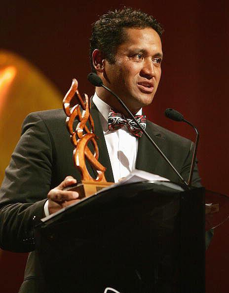 图文-坎贝尔当选毛利人年度最佳发表获奖感言