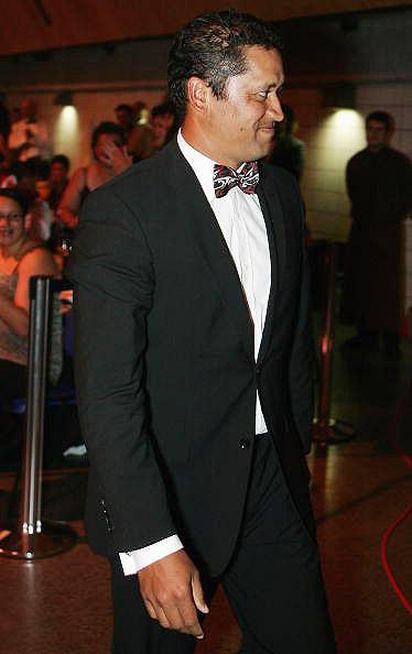 图文-坎贝尔当选毛利人年度最佳进场时充满期待