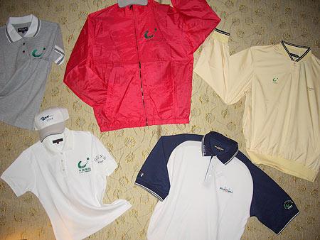 图文-业余巡回赛5周年展历年的指定服装
