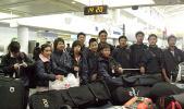 图文-中青队美国集训精彩瞬间踏上赴美的征程