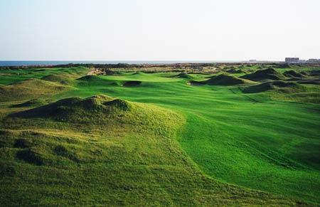 图文-海阳旭宝高尔夫球场第十五洞悠远静谧