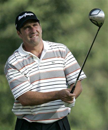图文-第88届PGA锦标赛开杆西班牙老将奥拉查宝