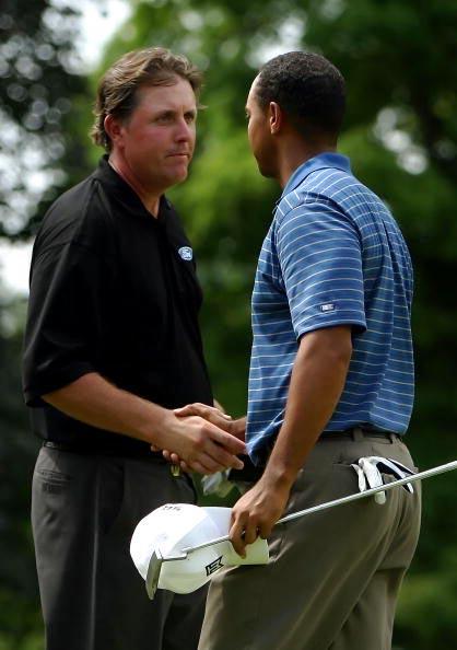 图文-第88届PGA锦标赛开杆两大热门暗暗较劲