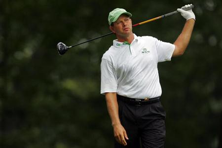 图文-美国PGA锦标赛第二轮结束大鹅古森平淡无奇
