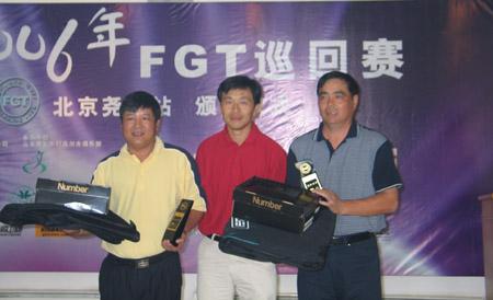 图文-FGT巡回赛北京尧上站会员组总净杆亚军