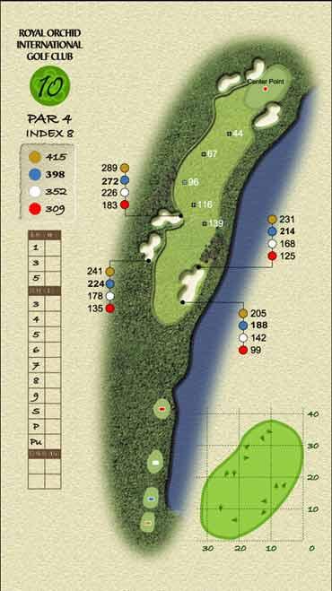 图文-君兰国际高尔夫球场十号洞充满热情