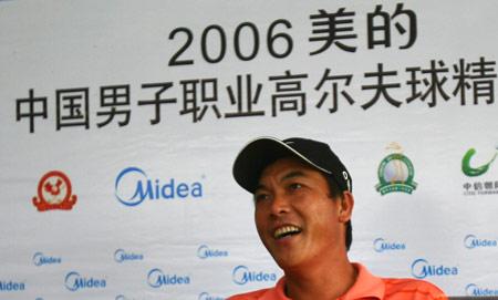 图文-美的中国精英赛决赛轮夺冠后很开心