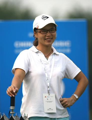 图文-美的中国精英赛决赛轮球迷开心留影