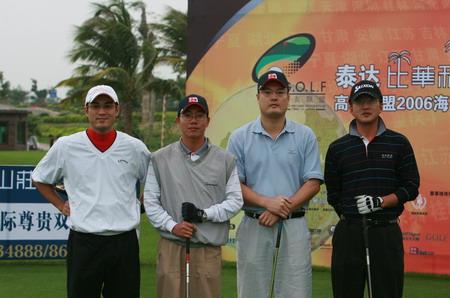 图文-高友联盟海南决赛首日兴致勃勃创造好成绩