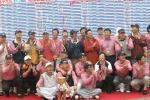 图文-高友联盟总决赛结束北京队欢庆胜利时刻