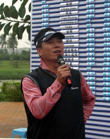 图文-高友联盟总决赛结束北京队队长发表夺冠感言