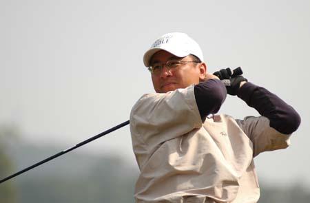 图文-2007中国业巡赛揭幕期待小鸟球出现