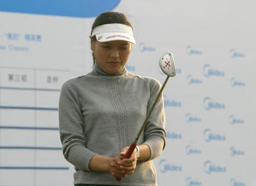 图文-美的女子精英赛赛前备战杨红梅瞄准冠军