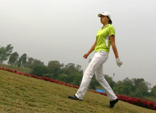图文-美的女子精英赛第二轮黄萍稳步走向榜首